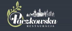 restauracja paczkowska logo ciemne